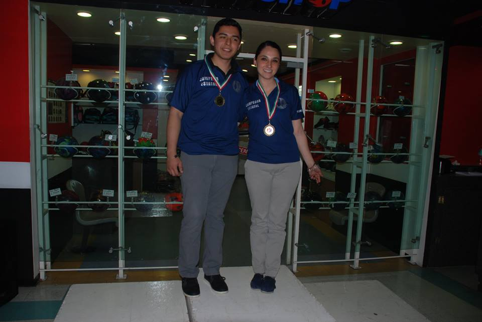 Sandra Góngora y Daniel Bautista